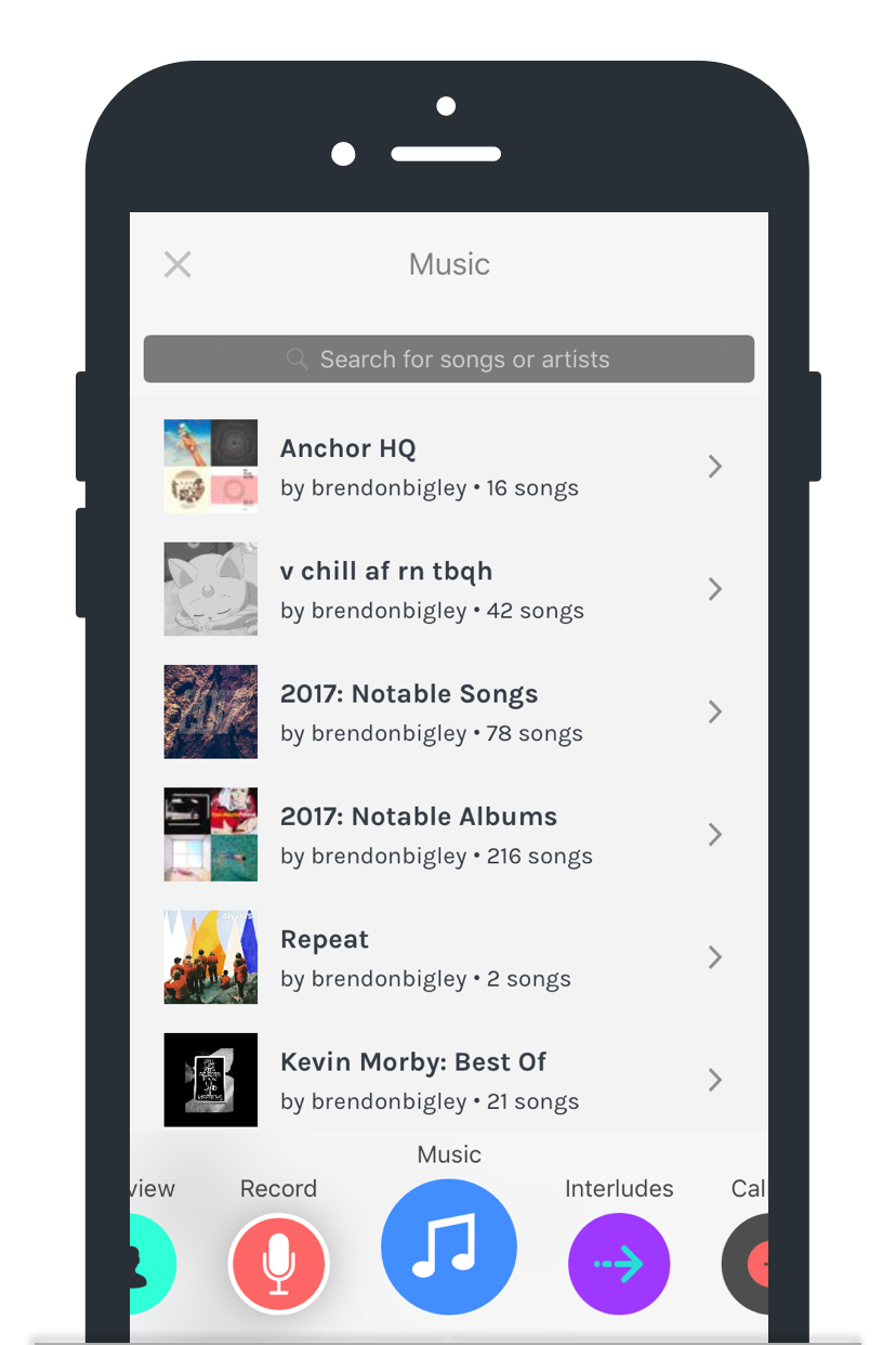 New, powerful ways to add music to your audio with Anchor