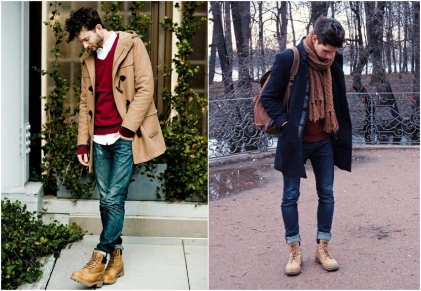 How To Wear Timberland Boots: Mens