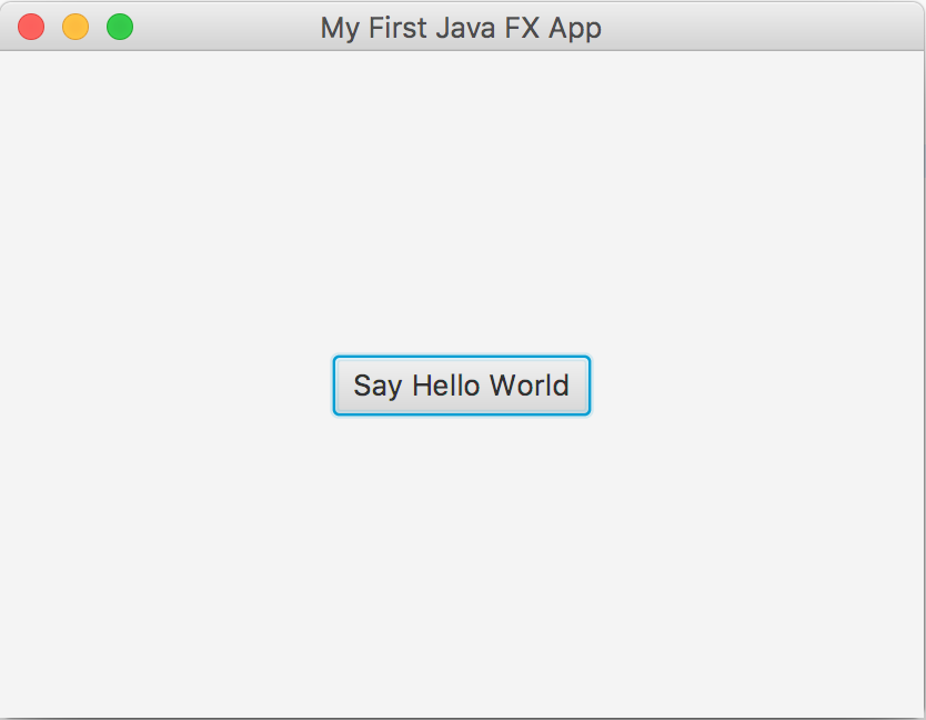 Create your first JavaFX 8 Application with Eclipse