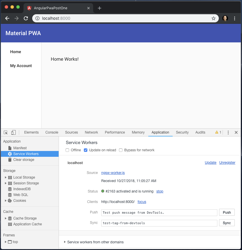 Part 1: Building a Progressive Web Application (PWA) with