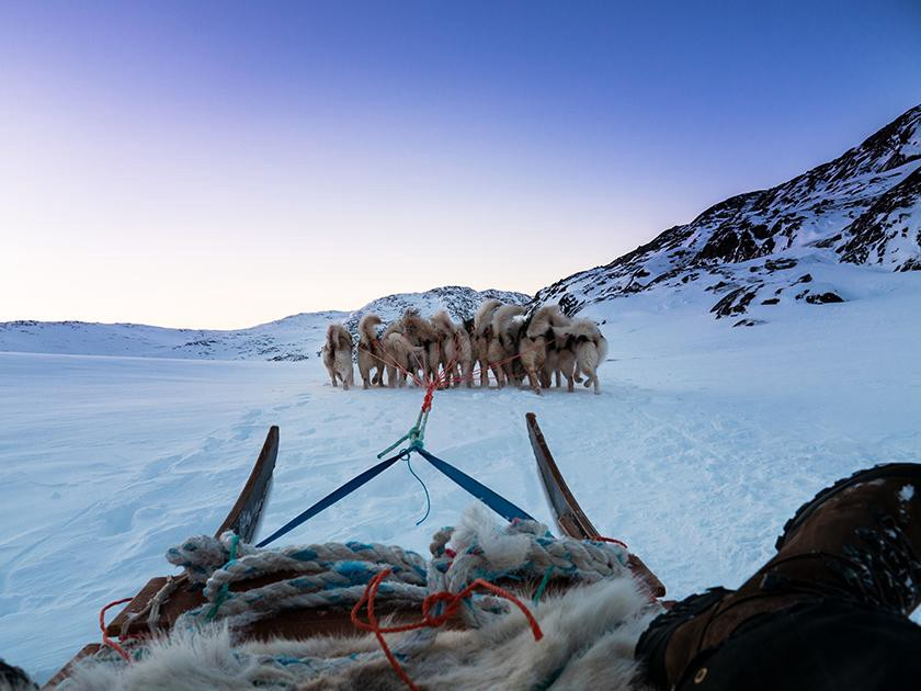 The Arctic Circle Trail is best experienced between January to February. The 104 miles (167km) journey takes place on the sou