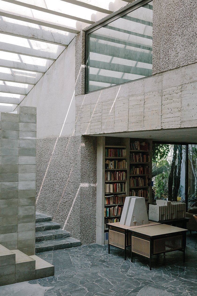 Pedro Reyes and Carla Fernández's Brutalist masterpiece in Mexico City is centered around a towering library, which they say