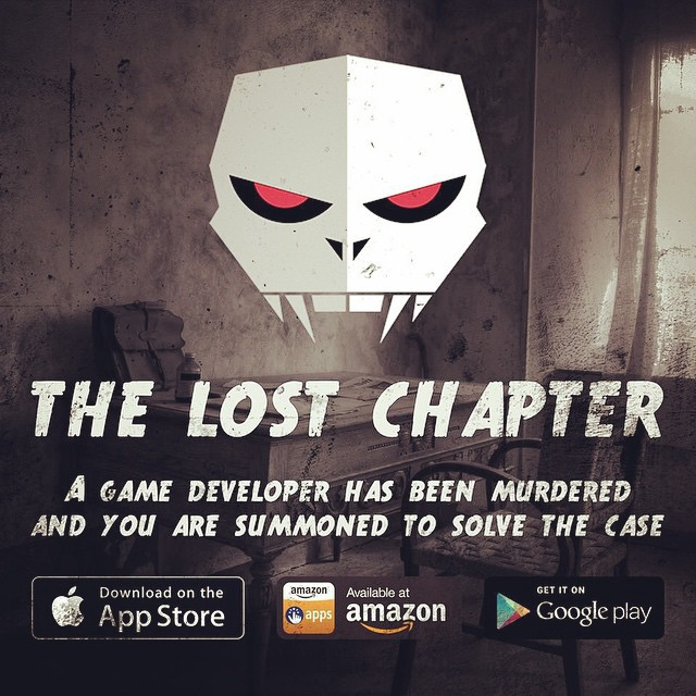 The Lost Chapter — A point and click murder mystery game