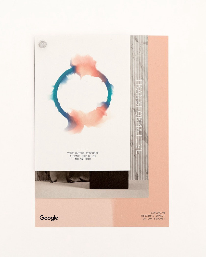 "Photo: Booklet cover of Google's ""A space for being"" exhibition."