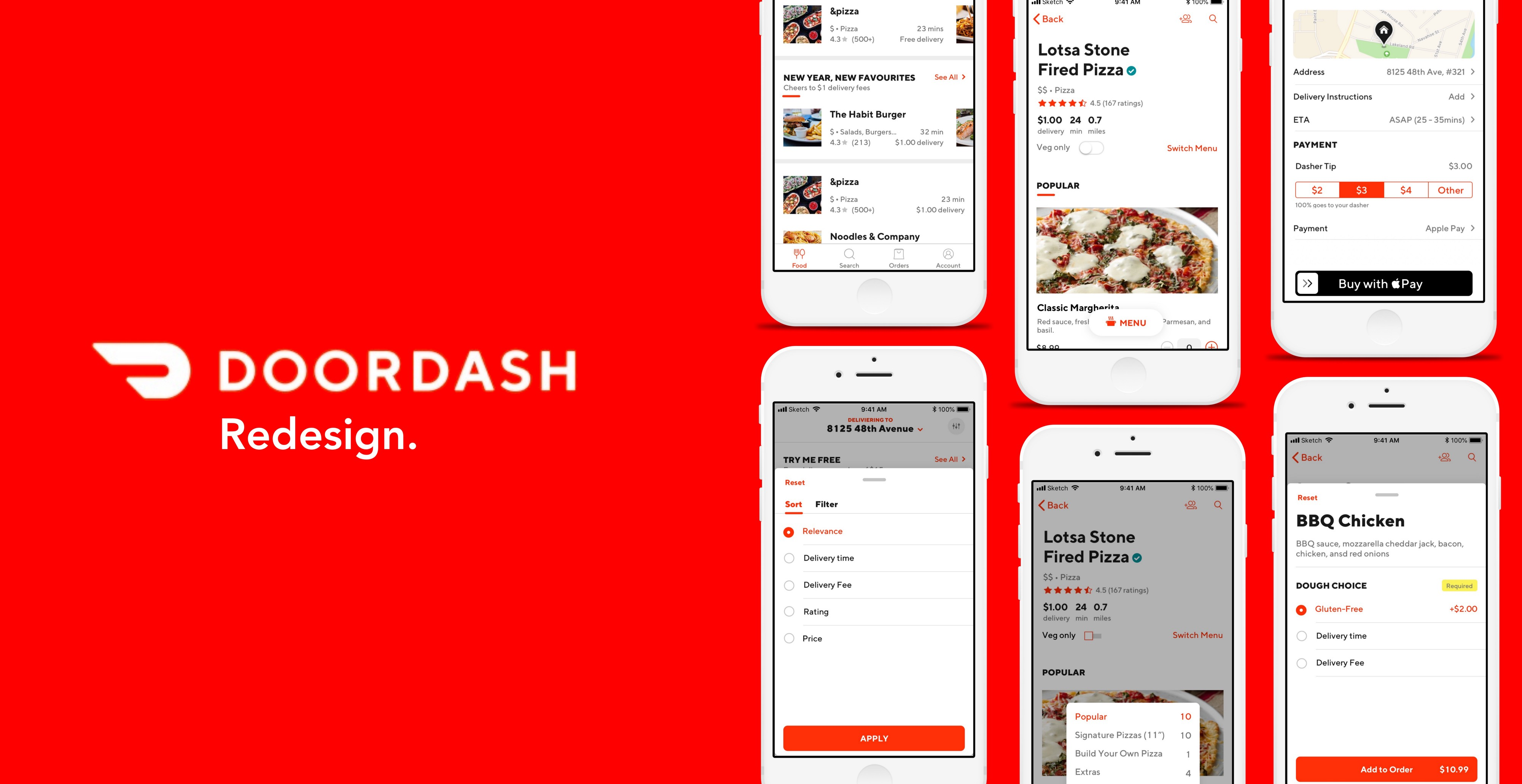 Food Ordering Made Simpler A Doordash Redesign By Jashan Gupta Prototypr