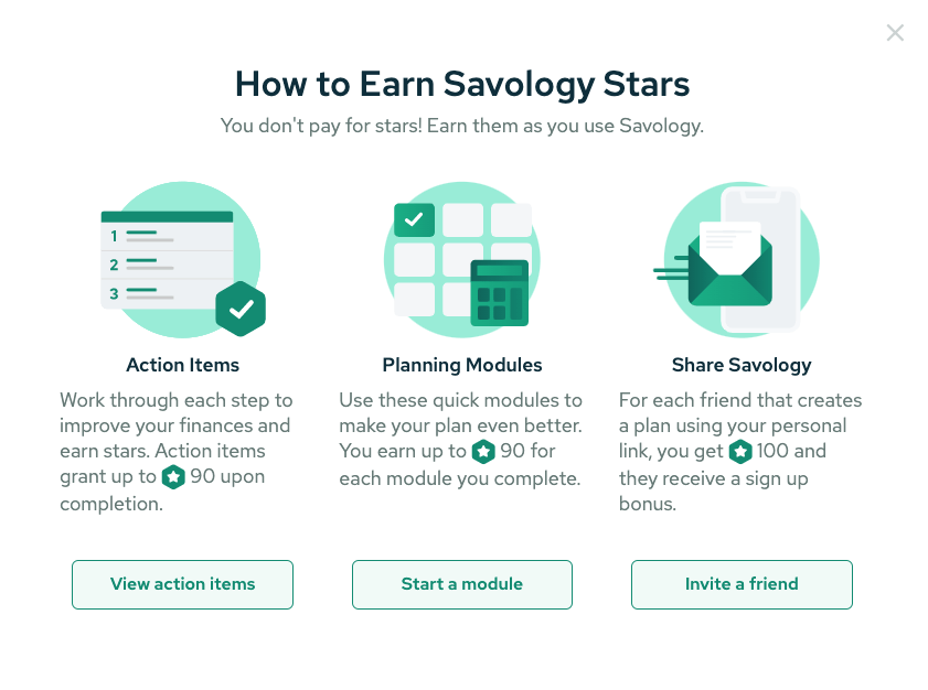How to earn Savlogoy stars