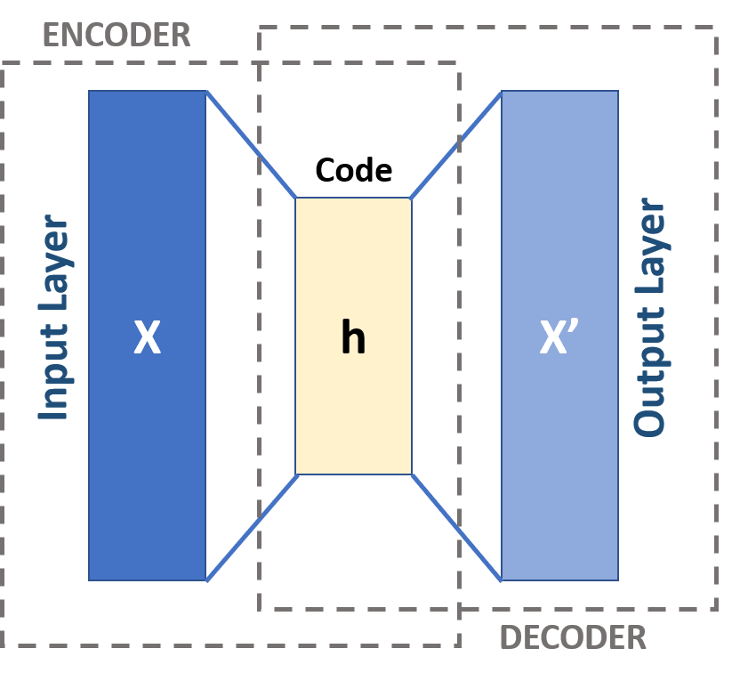 The Schema of an Autoencoder Neural Network