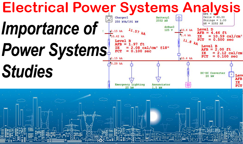 importance of power system studies