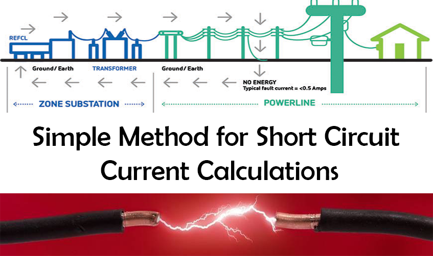 simple method for short circuit study calculations
