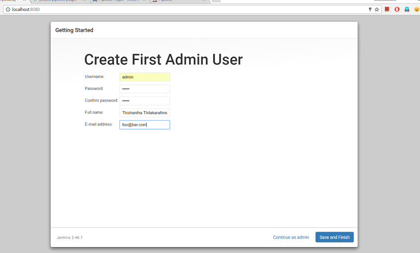Installing and Running Jenkins as a Standalone Application