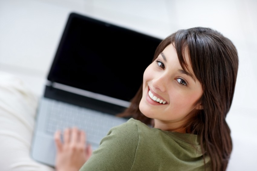 Are stock photos such as these of people enjoying elearning relevant? No. And what is she doing? Who is she looking at? And w