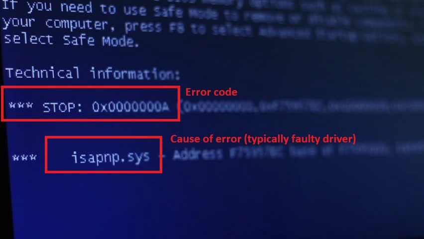 🔧 Windows 10 Blue Screen Error Codes & Solutions (All BSOD