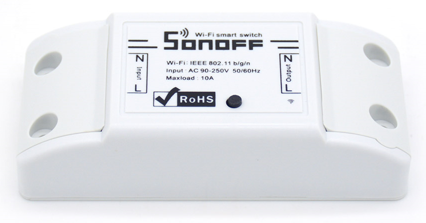Flashing a Custom Firmware to Sonoff wifi switch with