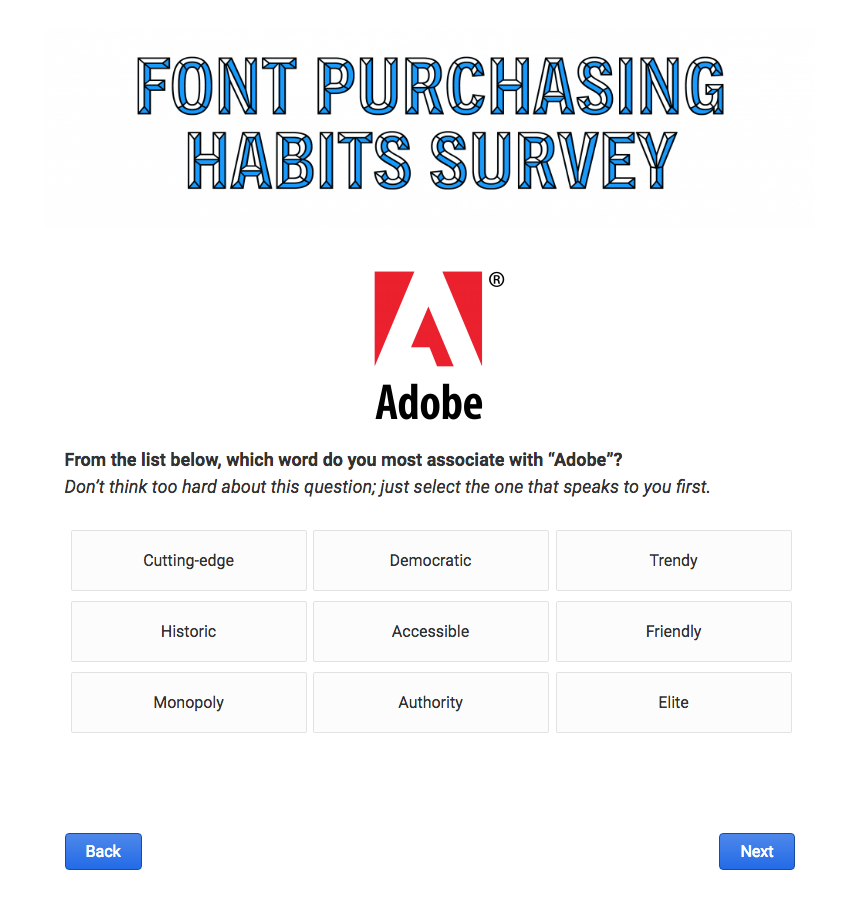 Announcing: The 2018 Font Purchasing Habits Survey!