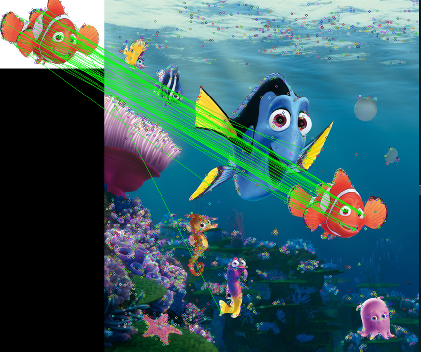 Finding Nemo using Feature matching - Coinmonks - Medium