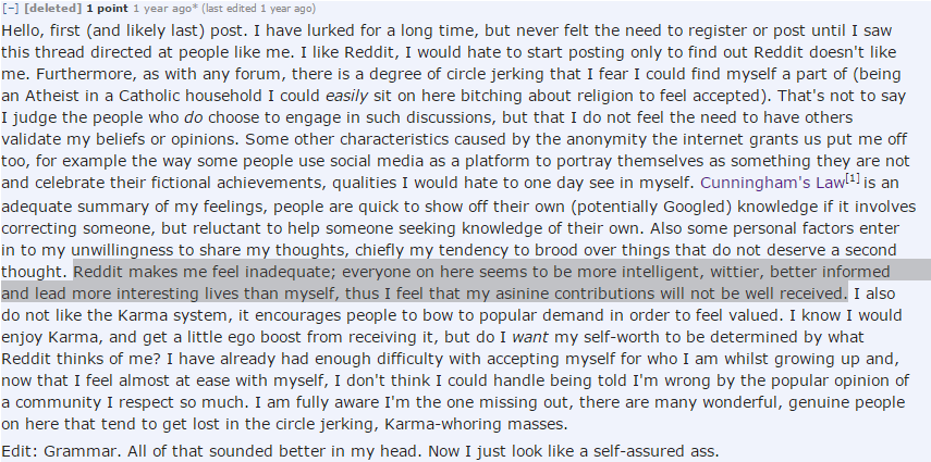 Why Posting to Reddit Gives Me Anxiety - Digital Culturist