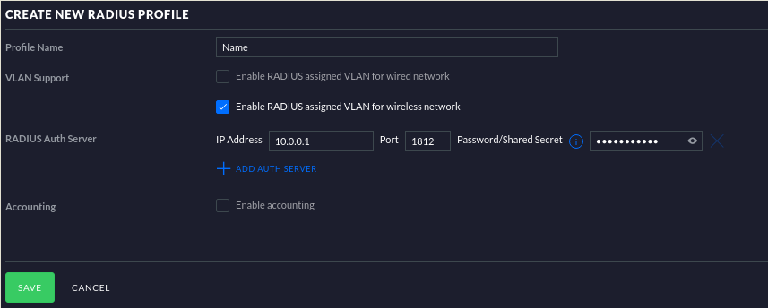 UniFi with Freeradius — Part 2: Configure UniFi and APs