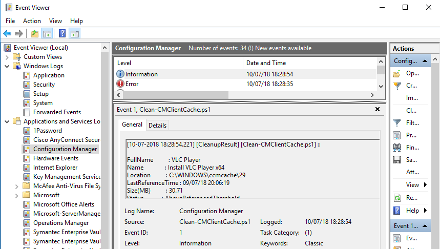 Cleaning the SCCM Cache the right way with PowerShell