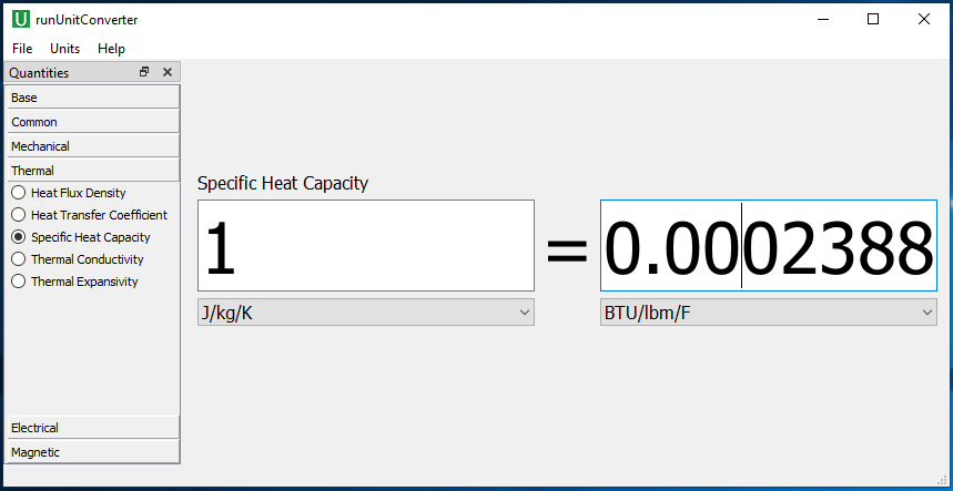 A Free Unit Converter App for Engineers - WELSIM - Finite