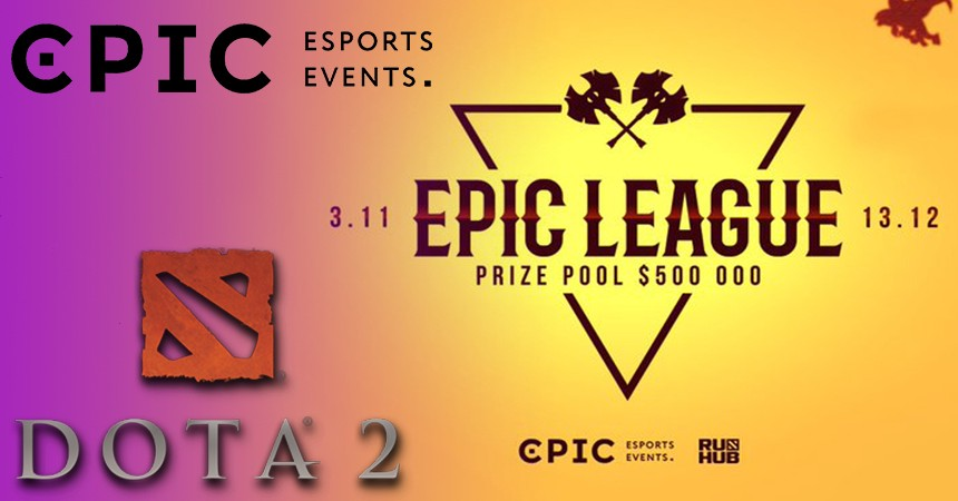 EPIC League ends groups stage with tiebreakers in Dota 2 esports.