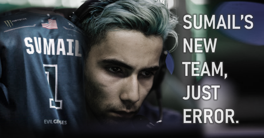 SumaiL on Just Error, an overhyped team in Dota 2 esports.