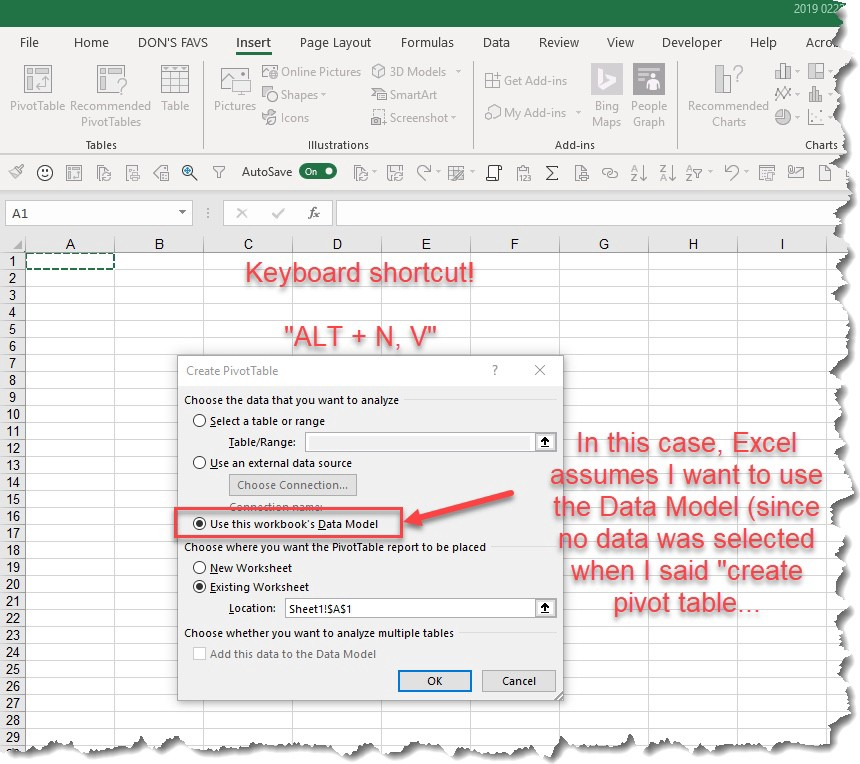How to Insert Excel Pivot Tables - Let's Excel - Medium