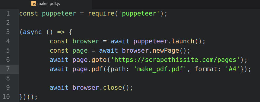 Web Scrapping with Puppeteer — Some basic examples - Rishabh