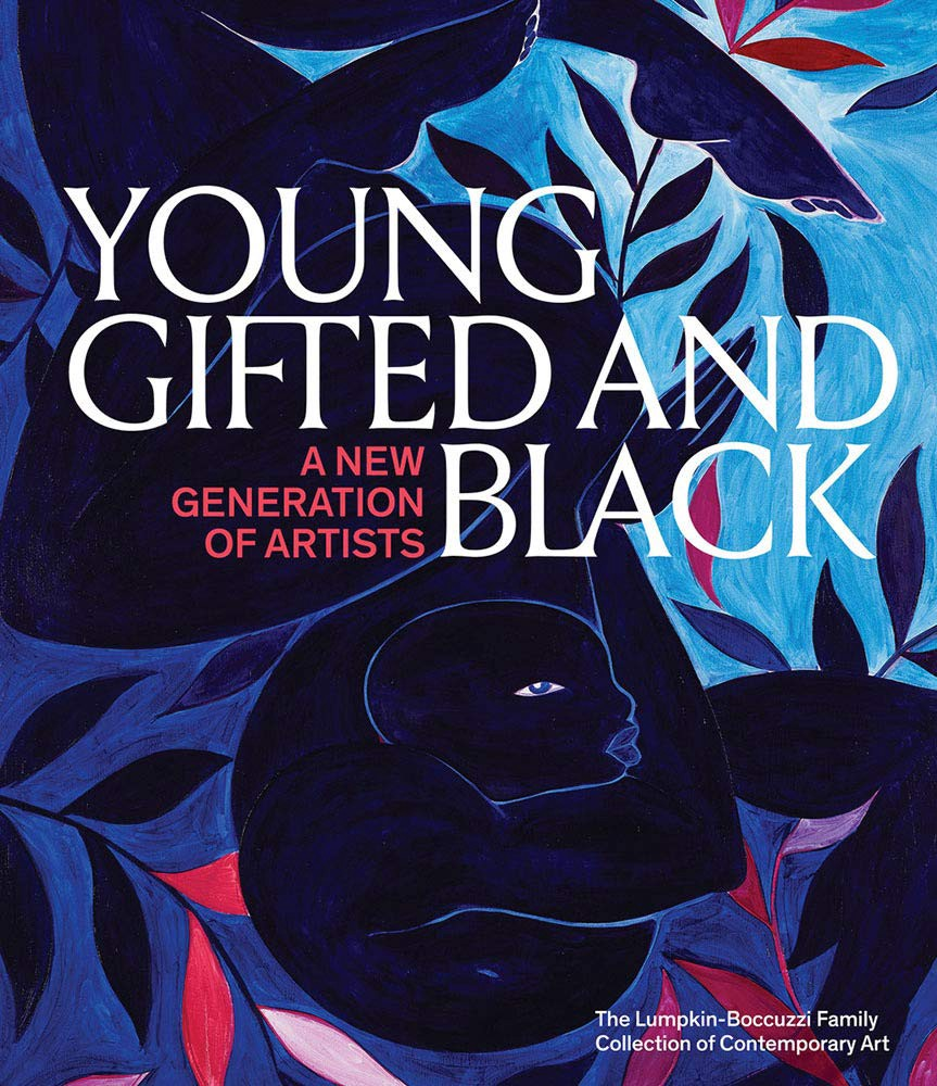 "Illustrated book cover for ""Young, Gifted and Black: A New Generation of Artists."""