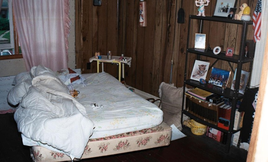 The bedroom where Fawn Cox was murdered July 26, 1982. Photo courtesy of KCPD.