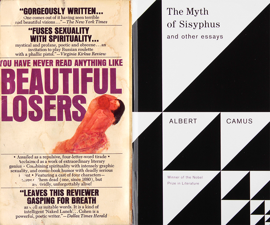 Why Beautiful Losers and the Myth of Sisyphus Should Be Read in Tandem