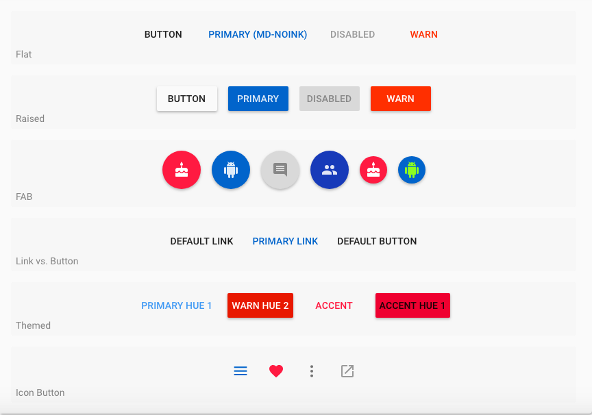 11 Material Design UI Component Libraries for 2019 - Bits