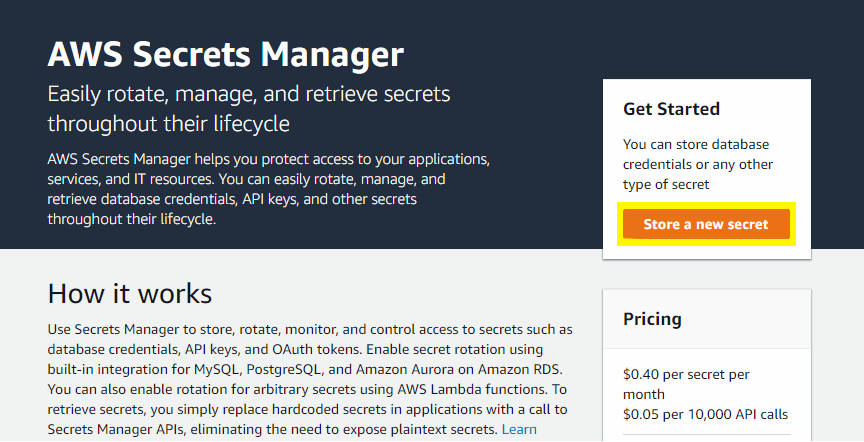 Store and Rotate API Keys with AWS Secrets Manager - Zac