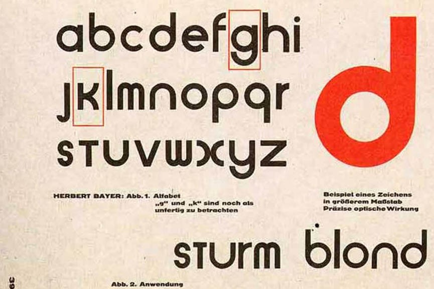 Bauhaus 93 A Type Family With Strong Influence From