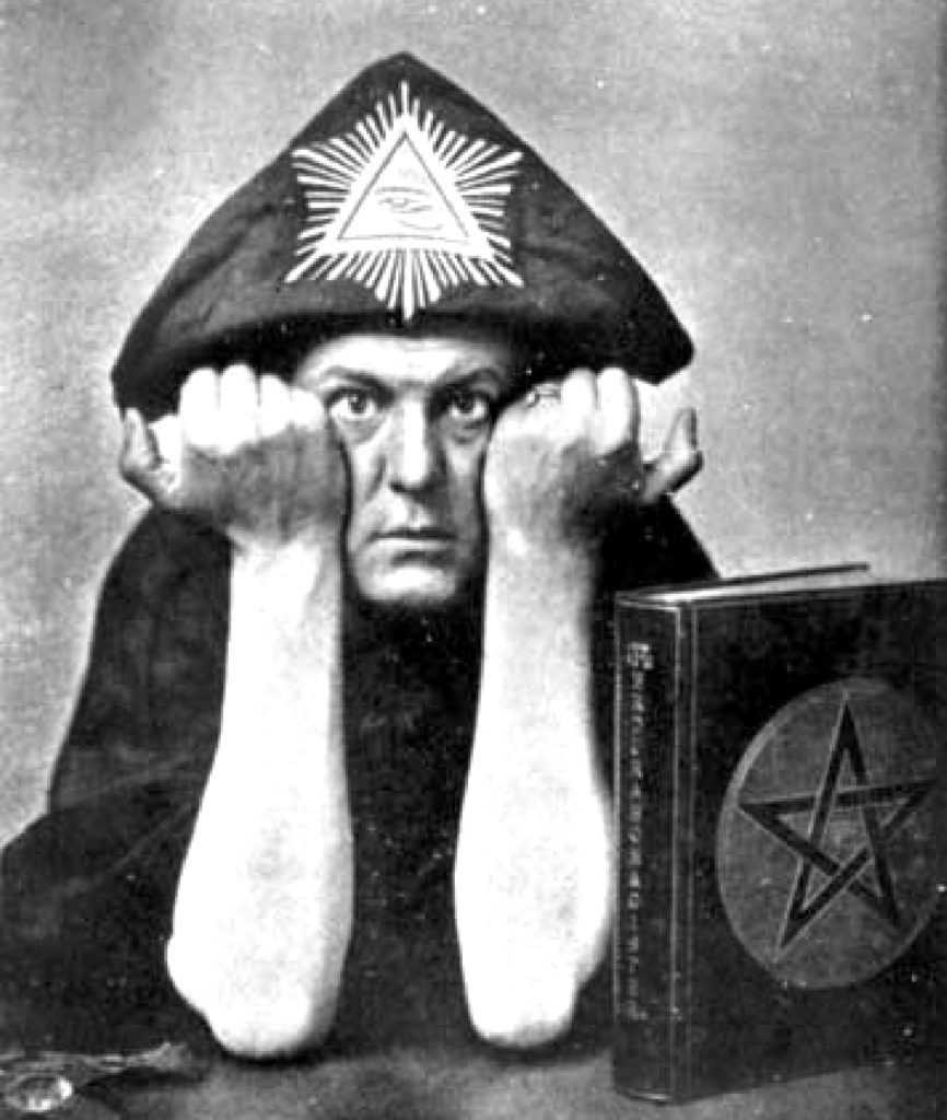 Magician and mystic Aleister Crowley 1875–1947