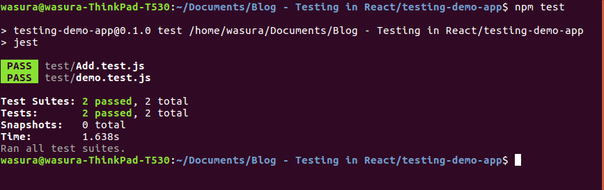 Testing with Jest and Enzyme in React — Part 2 (How to