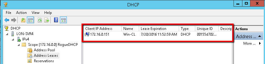 Attack a network by using a rogue DHCP server - Tech Jobs