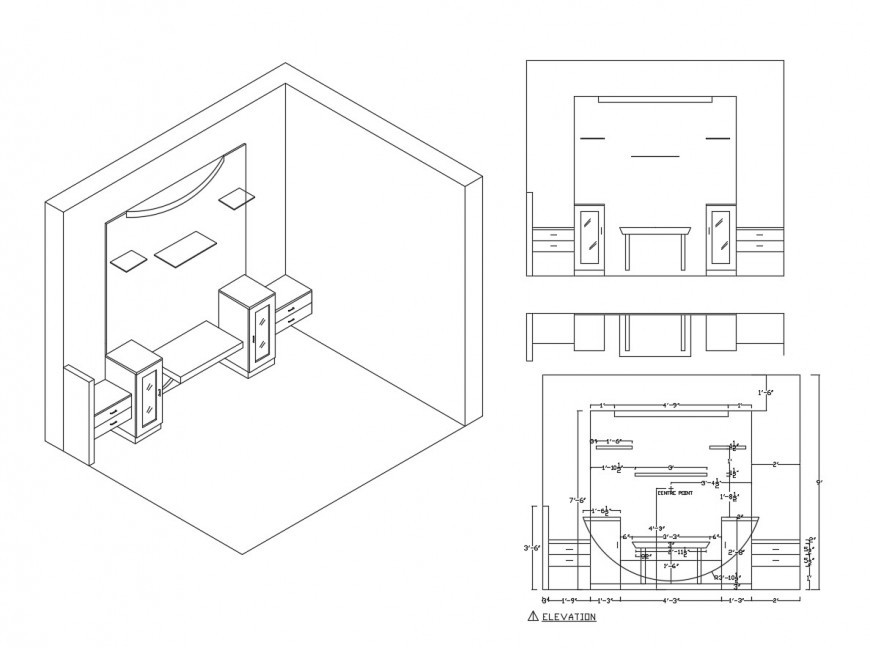 FURNITURE PLANS FOR DRAWING ROOM  AUTOCAD FILES   - Autocad
