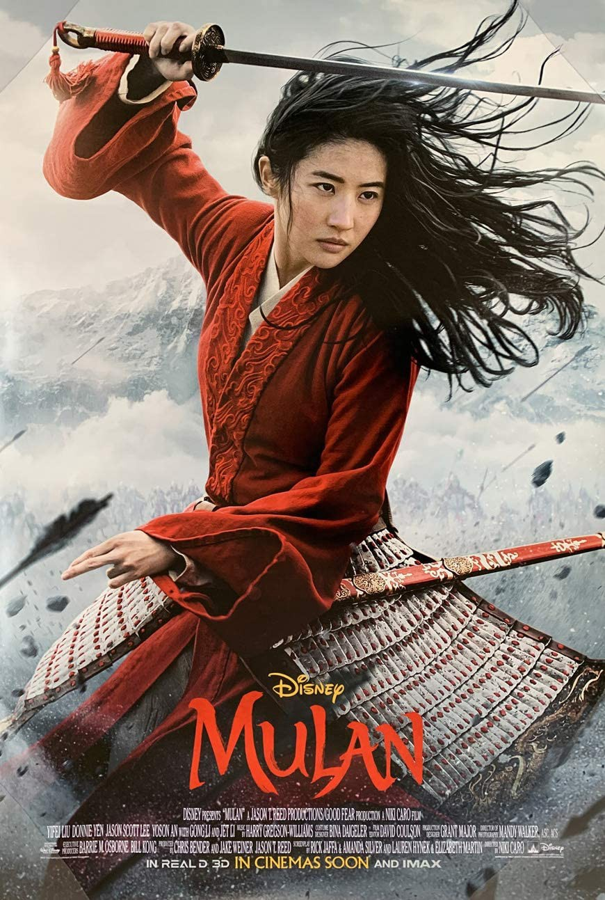 "Halloween 2020 Edwards Imax Silber Mulan"" Film Review. Yifei Liu, in this live action film… 
