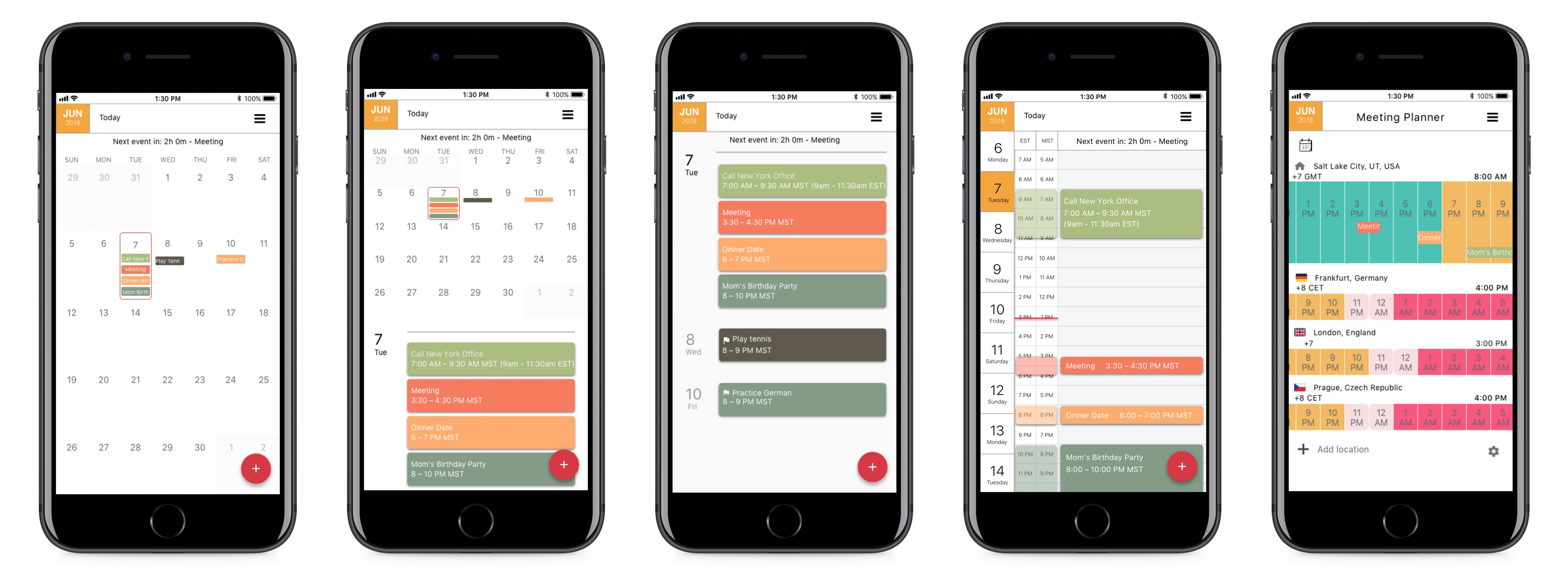 Case Study: Designing a calendar app to manage meetings