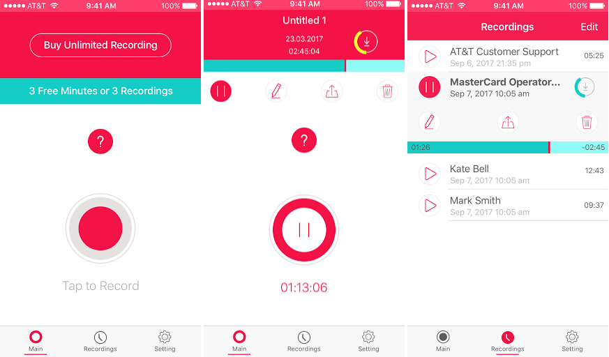 16 Best iOS Apps for Recording Phone Calls - Janet Paterson