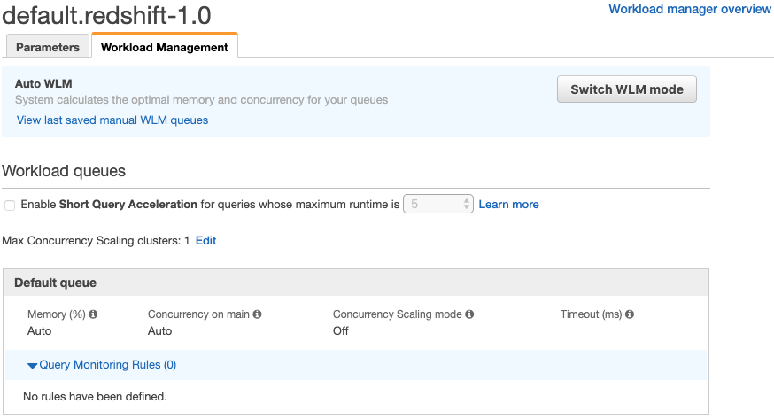 Concurrency Scaling in AWS Redshift - WeAreServian - Medium