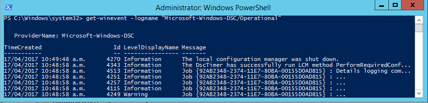 Windows PowerShell Desired State Configuration (DSC)