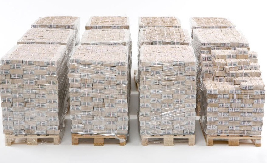 An image of One Billion Dollars in Cash