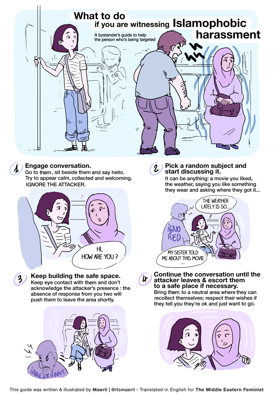 End Islamophobia Now! A Comic Guide for Stopping Hate When