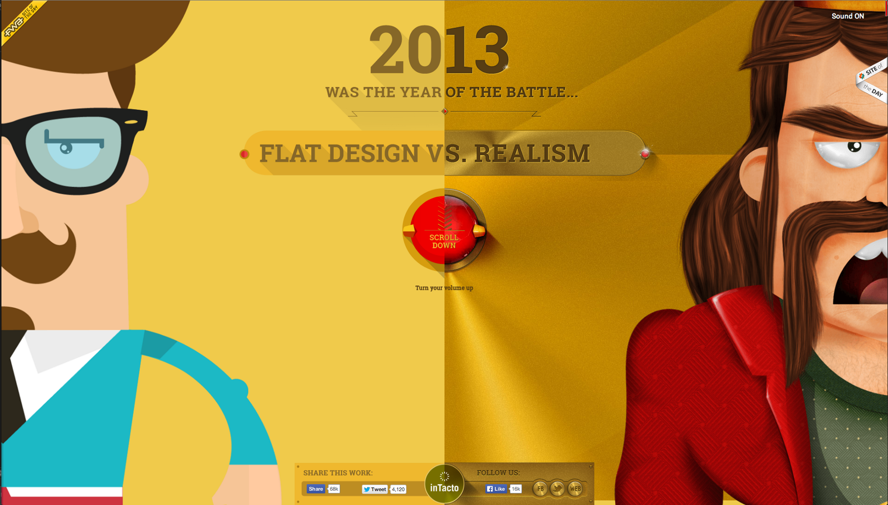 The Troublesome Misconception of Parallax in Web Design.