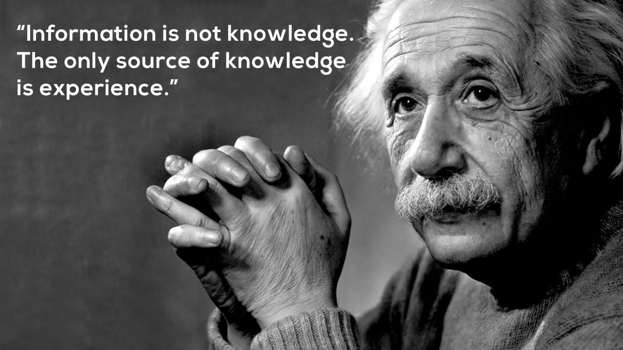 Data Science courses - Information is knowledge. The only source for knowledge is experience
