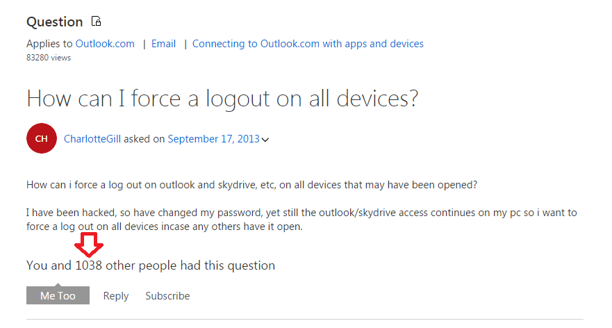 Hotmail Hacked? Microsoft Has No Solution to Remotely Force
