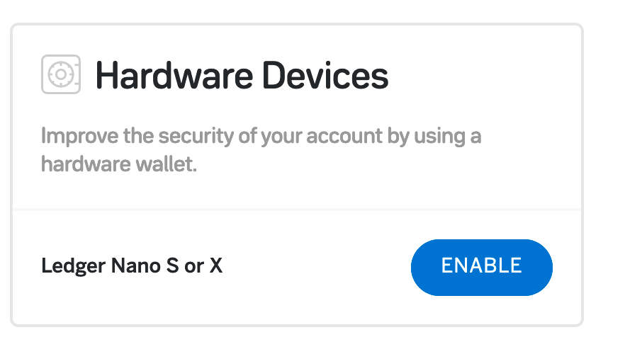 03 — Confirming your Ledger Wallet