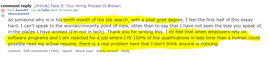 Face It  Your Hiring Process Is Broken  - Code Like A Girl
