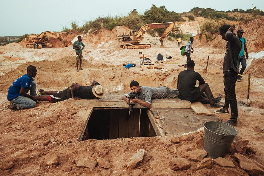 Behind-the-scenes of The Burial of Kojo — a dazzling new